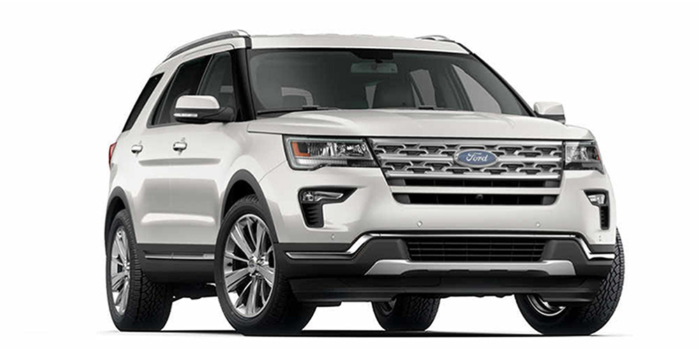Ford New Explorer 2020